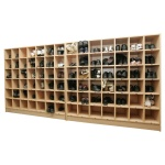 84 Compartment Shoe Locker